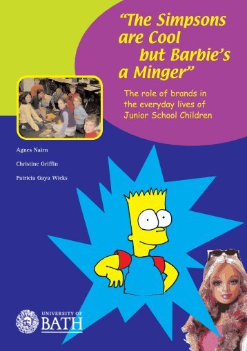 The Simpsons are Cool but Barbie's a Minger - Professor Agnes Nairn