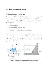 CAPITOLO 2: STATICA DEI FLUIDI - Dimeca