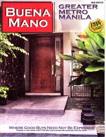 Buena-Mano-Greater-Metro-Manila-Area-2010-Q2-Greentag ...