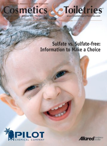 Sulfate vs. Sulfate-free: Information to Make a ... - Vida Of New Orleans