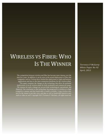 Wireless vs Fiber: Who Is The Winner - Telmarc Group
