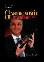 Gastronomie & Tourisme Juli-August 2012