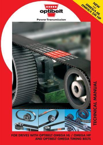 TECHNICAL MANUAL - Blažek Power Transmission