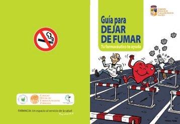 Guía para DEJAR DE FUMAR - Correo Farmacéutico