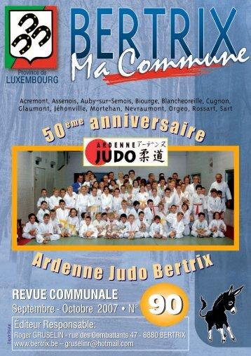 Revue communale de Bertrix n°90