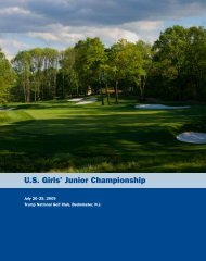 U.S. Girls' Junior Championship - USGA
