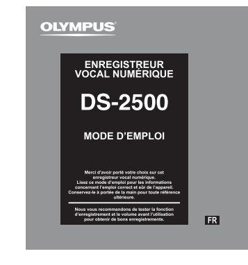 Téléchargement - Olympus
