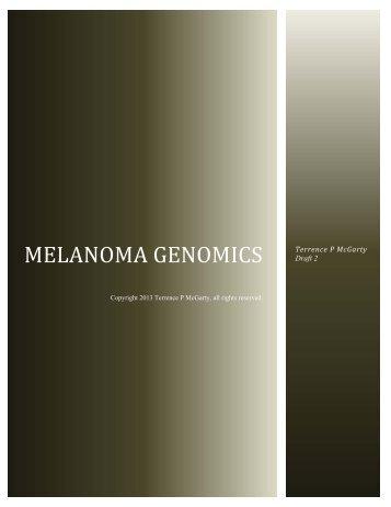 Melanoma Genomics 07.. - Telmarc Group