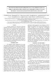 transgenic rootstocks expressing gflv coat protein gene in a ... - Ogm