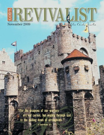 Read the November issue online - God's Bible School & College