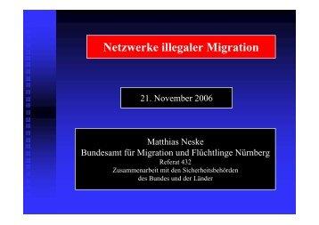 Netzwerke illegaler Migration