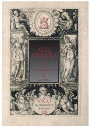 RICHARD WAGNER - VICO Wissenschaftliches Antiquariat und ...