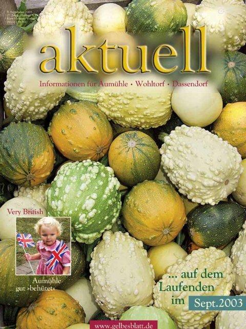 AWA09001 Aum.hle Wohltorf Aktuell 09/0, S. - Kurt Viebranz Verlag