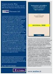 Scarica la presentazione del libro - LEC - Laboratorio Epidemiologia ...