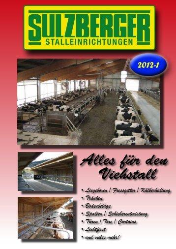 LIEGEBOXEN KOMFORT - Sulzberger Stalleinrichtungen