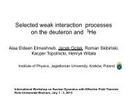 Selected weak interaction processes on the deuteron and 3He