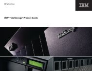 IBM® TotalStorage® Product Guide - MT Storage