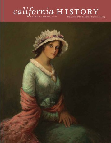 Volume 88, Number 3 - California Historical Society