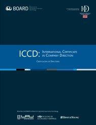ICCD: INTERNATIONAL CERTIFICATE IN COMPANy ... - Board