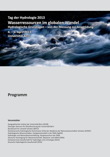 Definitives Programm - Universität Bern