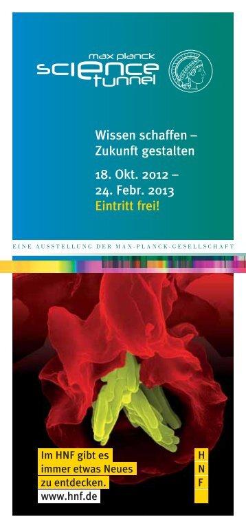 Programmheft zum Download - Heinz Nixdorf MuseumsForum