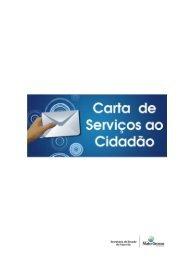 Carta de Serviços ao Cidadão - Sefaz
