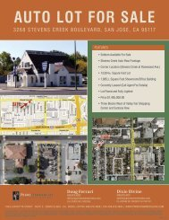 auTO LOT FOR SaLE - Prime Commercial, Inc