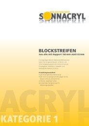 Rapport Blockstreifen!