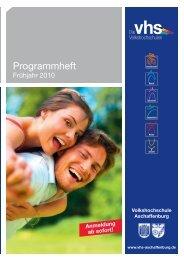Beruf - Volkshochschule Aschaffenburg