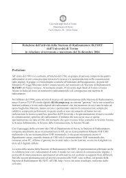 relazione stazione radio - CISI - Università degli Studi di Torino