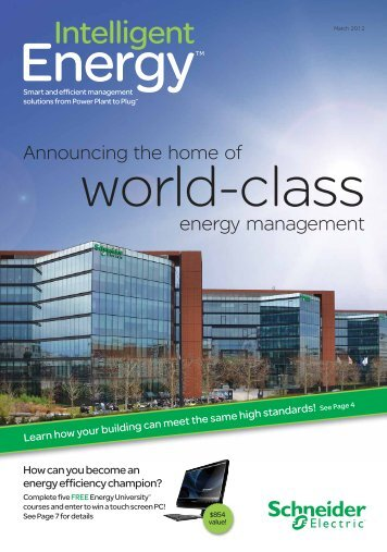 Download a copy of Intelligent Energy - Schneider Electric