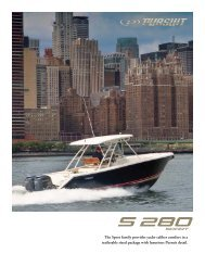S 280 Sport - Pursuit Boats