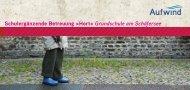 Schulergänzende Betreuung »Hort« Grundschule am Schäfersee
