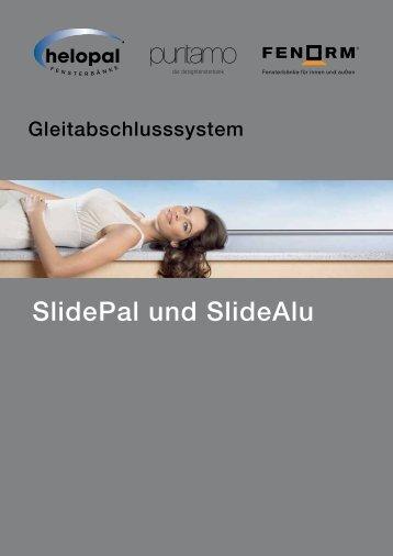 SlidePal und SlideAlu - Helopal