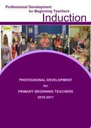 Professional Development for Beginning Teachers