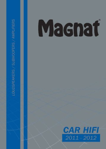 Magnat Car 2011en.qxd:Layout 1