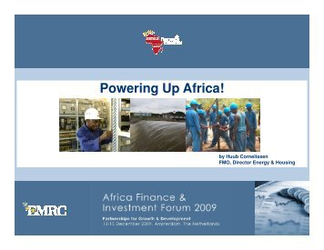 FMO - Powering Up Africa - EMRC