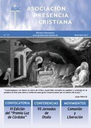 """VI Edición del """"Premio Luz de Córdoba"""" - Asociación Presencia ..."""