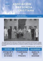 Entrega del V premio Luz de Córdoba Ayuda a la Iglesia necesitada ...