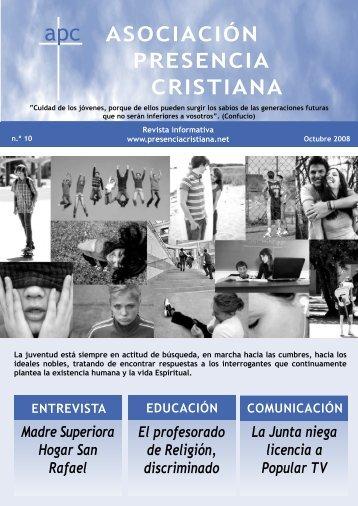 Número 10 - Asociación Presencia Cristiana