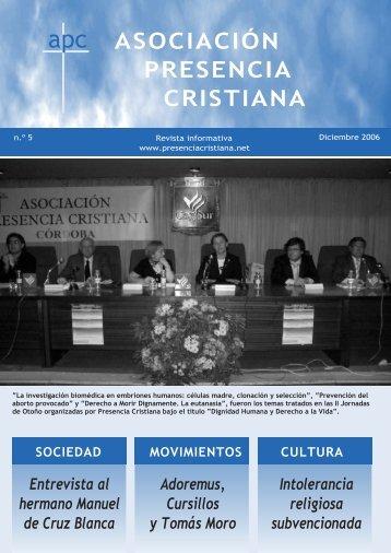 Número 5 - Asociación Presencia Cristiana en Córdoba