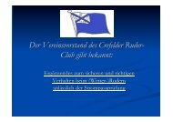 Sicherheit auf dem Wasser - Crefelder  Ruder-Club 1883 eV