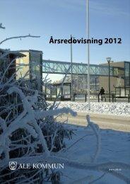 Årsredovisning 2012 - Ale kommun