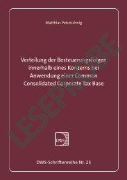 Leseprobe - Deutsches Wissenschaftliches Institut der Steuerberater ...