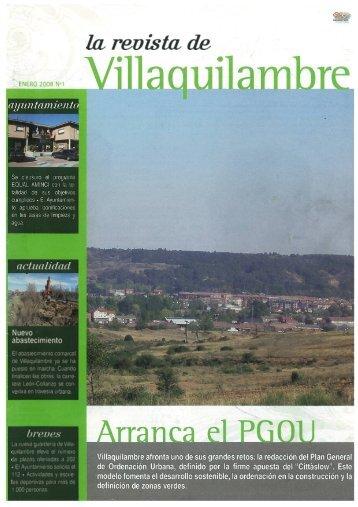 Revista - Ayuntamiento de Villaquilambre