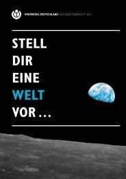 Tätigkeitsbericht 2011 - Wikimedia Deutschland
