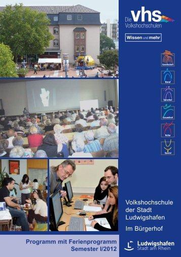Volkshochschule der Stadt Ludwigshafen Im Bürgerhof