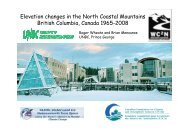 Elevation changes in the North Coastal Mountains ... - Etienne Berthier