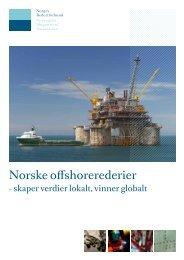 Norske offshorerederier - Norges Rederiforbund
