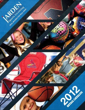 RETAIL CATALOG - Jarden Sports Licensing